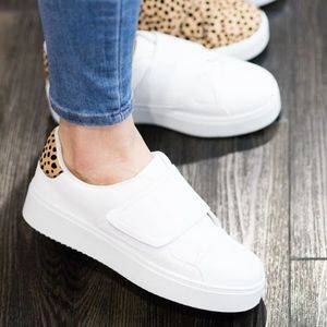 Shoes - Animal Detail Sneakers